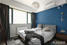 富裕型100平米三室一厅英伦风格卧室欣赏图