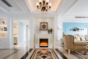 富裕型120平米三室一厅法式风格客厅图片大全