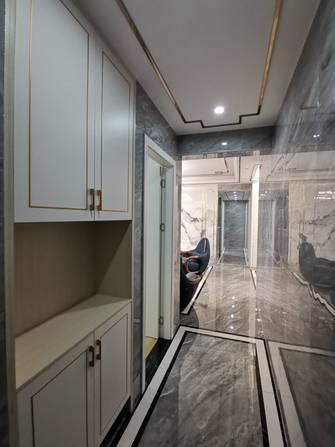 富裕型120平米三室两厅中式风格玄关图片