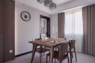 富裕型130平米三中式风格餐厅图片