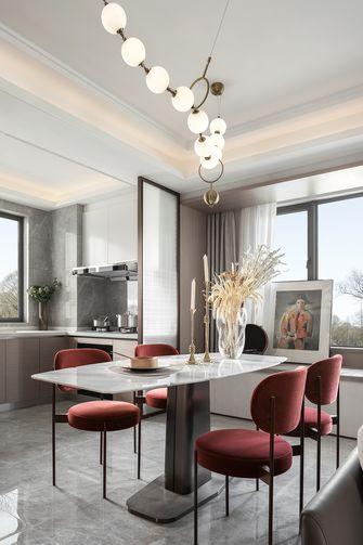 经济型130平米轻奢风格餐厅装修案例