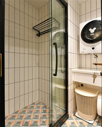 富裕型80平米三室一厅新古典风格卫生间装修图片大全