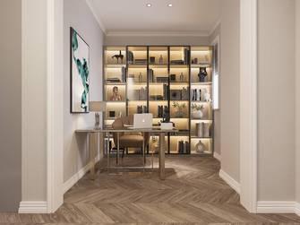 20万以上140平米复式美式风格书房装修图片大全