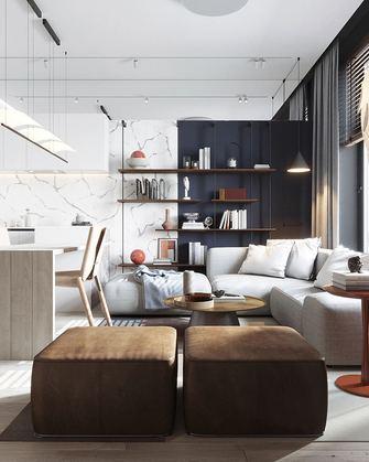 经济型60平米公寓北欧风格客厅设计图