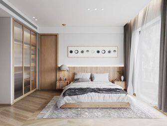 富裕型140平米三室三厅北欧风格卧室装修图片大全