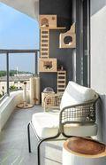 豪华型140平米三北欧风格阳台欣赏图