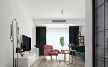 经济型70平米北欧风格客厅效果图