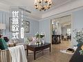 20万以上110平米三室两厅欧式风格客厅欣赏图