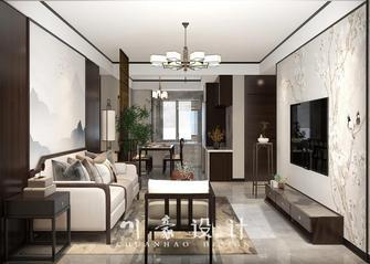 3-5万90平米三室三厅中式风格客厅设计图