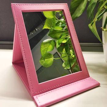 爱点评—平平粉色化妆镜