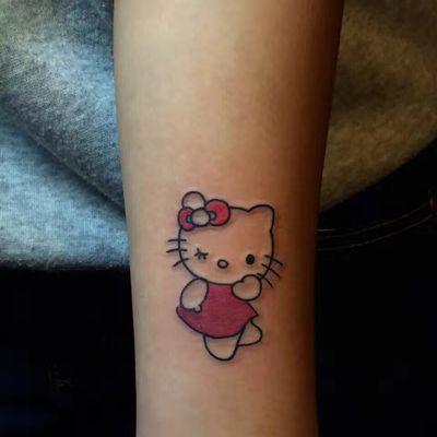 KT猫纹身图