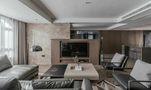140平米一居室null风格客厅图片