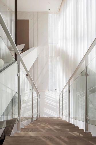 140平米三null风格楼梯间欣赏图