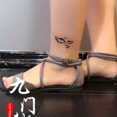 翅膀纹身款式图