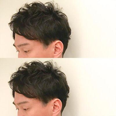 男士发型效果图