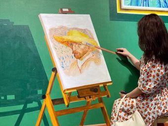 drawing·九月·油画·咖啡·DIY