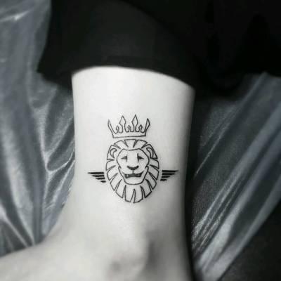 狮子王纹身图