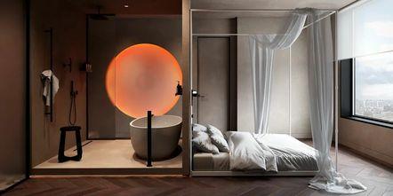 110平米公寓null风格卧室装修效果图