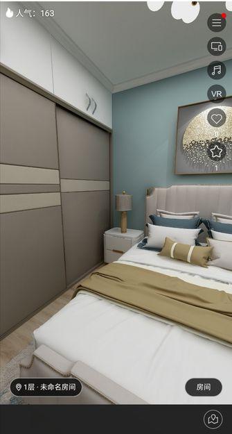 140平米复式null风格卧室装修图片大全
