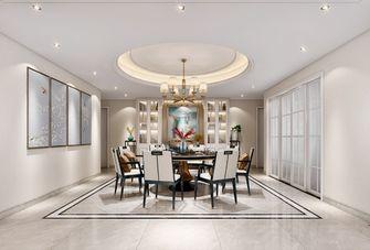 140平米四null风格餐厅设计图