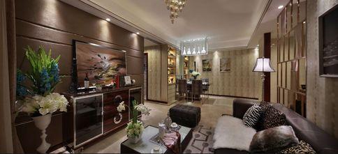 100平米三null风格客厅设计图