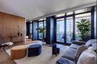 90平米一居室null风格客厅装修效果图