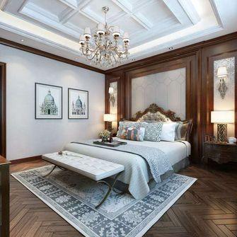 140平米别墅null风格卧室图片
