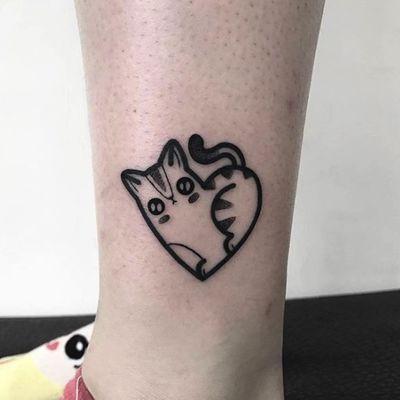 黑白小图纹身款式图