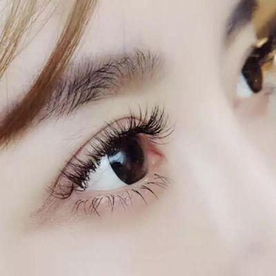 丝绒美睫美甲款式图