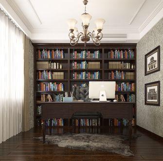 140平米别墅null风格书房装修案例