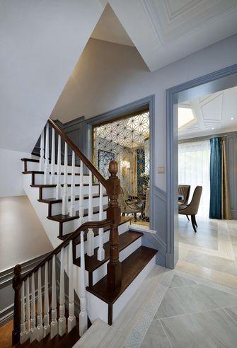 140平米别墅null风格楼梯间图片