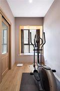 130平米三null风格健身室效果图