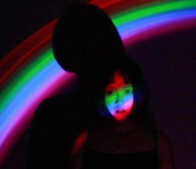 彩虹灯作品图