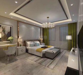 140平米四null风格卧室装修图片大全