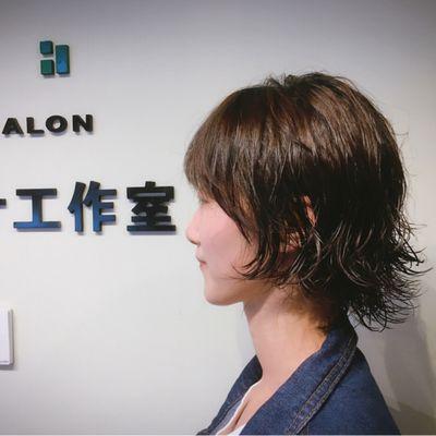 日韩发型作品图
