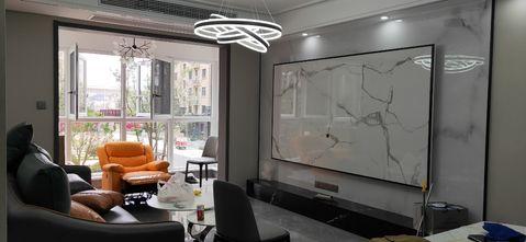 120平米三null风格客厅装修图片大全