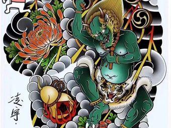 西塘老艺人纹身