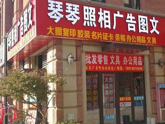琴琴广告照相图文胶装刻章大图复印(禹洲中央城店)