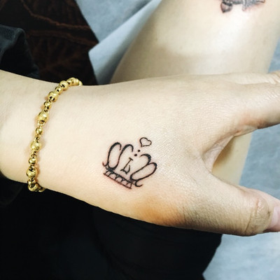 虎口小图纹身款式图
