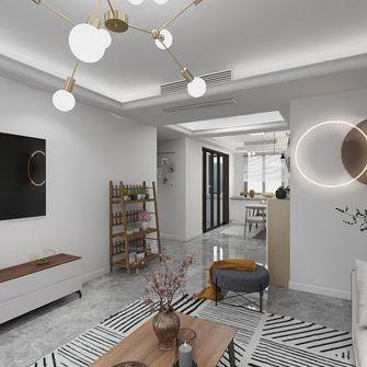 100平米三null风格客厅装修图片大全