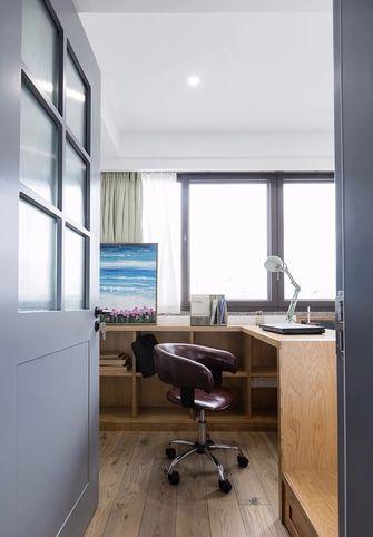 100平米三null风格书房设计图