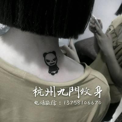 凶猫纹身款式图