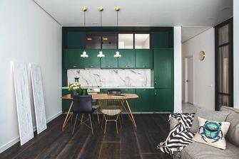 60平米一居室null风格厨房设计图