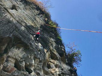 阳朔中攀探险攀岩