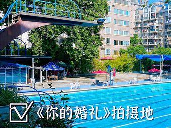 大梦山游泳池