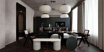 110平米公寓null风格餐厅图