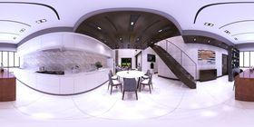 140平米复式null风格厨房图片