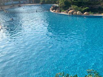 金山龙庭·无边际游泳池