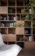 130平米三null风格书房图