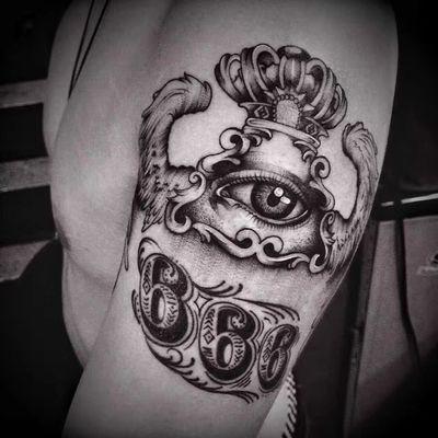 抽象纹身图